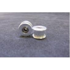 Ролик проходной 16 зубов вал 3 мм под ремень 2GT 6мм