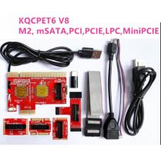 Post-плата  KQCPET6V6  PCI  PCI-E  LPC ноутбук MiniPCI-E