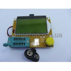 Тестер транзисторов и ESR метр  LCR-T4