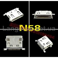 Micro USB N58 для  LG 12P