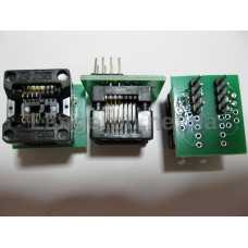 ZIF переходник SOP8 на DIP8 Mil150 (24 серия)