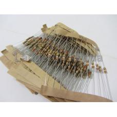 Набор 1/4Вт резисторов 12 -180 Ом 23 номинал по 10шт 230шт