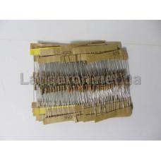 Набор 1/4Вт резисторов 4.7K-68K Ом 25 номинал по 10шт 250шт