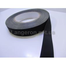 Черная изолента на тканевой основе 25мм