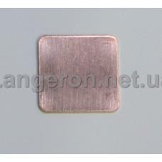 Медный термоинтерфейс 1мм - 15Х15мм