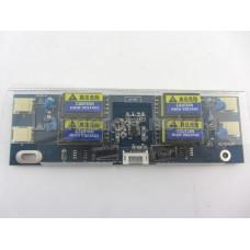 Универсальный инвертор  ультро тонкий от 1-ой до 4-х ламп 10-28 Вольт 15-22