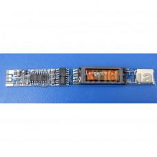 Универсальный инвертор 1-х ламповый ноутбук 5-28 вольт AVT528