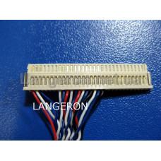 Кабель LVDS FIX-30P-D6 Single 6