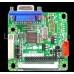 """Универсальный скалер 10-42  """"GOLD-A7"""" MT6820-B + кнопки + кабель FIX30p dual8"""