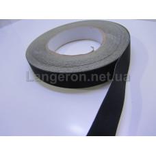 Черная изолента на тканевой основе 20мм