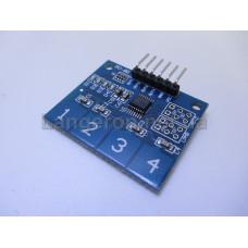 Модуль 4 сенсорные кнопки ардуино