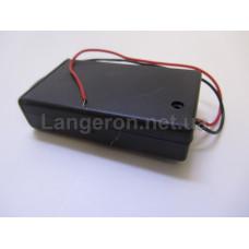 Батарейный отсек с выкл 3хААА