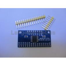 Аналоговый мультиплексор CD74HC4067 CMOS 16-канальный