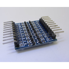 Модуль 8ми канальный преобразователь уровней TTL 5v-3.3v