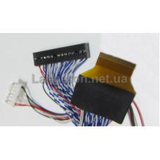 Кабель LVDS 8бит 2 канала 51Pin LED для LTL106HL01