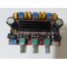 Аудио усилитель 2,1  2*50W+100W
