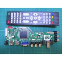 Скалер  RR52C.81A DVB-T2 DVB-T DVB-C  Т2 обновление DS.D3663LUA.A81